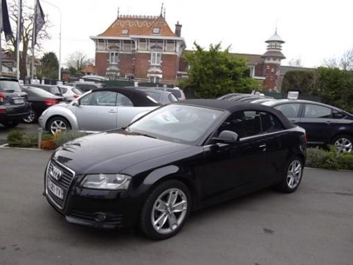 Audi A3 CABRIOLET d'occasion (02/2009) en vente à Villeneuve d'Ascq
