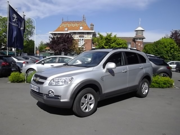 Chevrolet CAPTIVA d'occasion (09/2010) en vente à Villeneuve d'Ascq