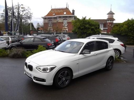 BMW SERIE 1 d'occasion (02/2012) disponible à Villeneuve d'Ascq