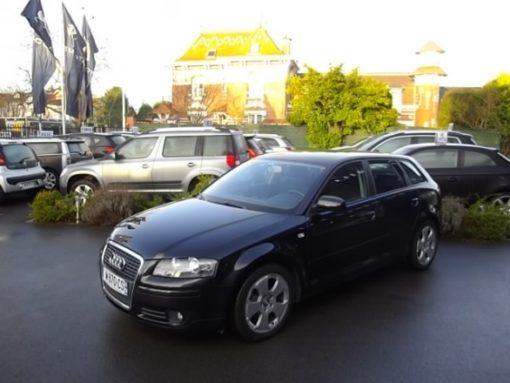 Audi A3 SPORTBACK d'occasion (01/2008) disponible à Villeneuve d'Ascq