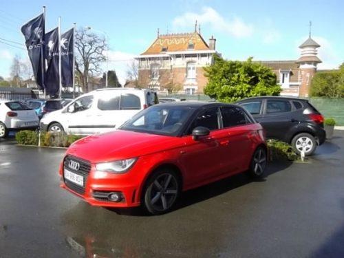 Audi A1 SPORTBACK d'occasion (11/2013) disponible à Villeneuve d'Ascq