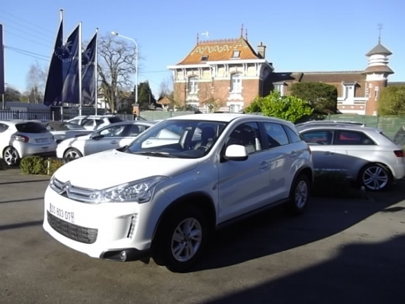 Citroen C4 AIRCROSS d'occasion (06/2015) disponible à Villeneuve d'Ascq