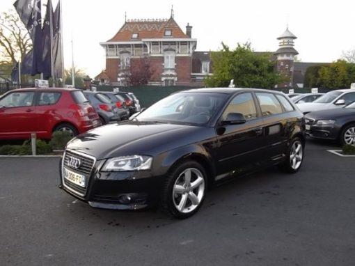 Audi A3 SPORTBACK d'occasion (04/2009) disponible à Villeneuve d'Ascq