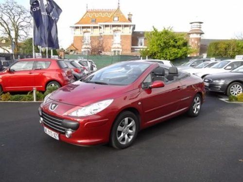 Peugeot 307 CC d'occasion (07/2007) disponible à Villeneuve d'Ascq