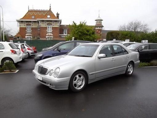 Mercedes CLASSE E d'occasion (10/1999) en vente à Villeneuve d'Ascq