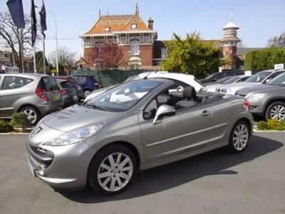 Peugeot 207 CC d'occasion (01/2009) en vente à Villeneuve d'Ascq