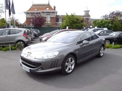 Peugeot 407 COUPE d'occasion (11/2009) disponible à Villeneuve d'Ascq