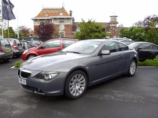 BMW SERIE 6 COUPE d'occasion (12/2006) disponible à Villeneuve d'Ascq