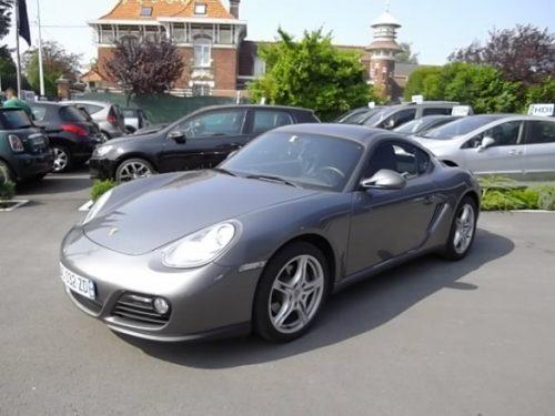 Porsche CAYMAN d'occasion (09/2009) en vente à Villeneuve d'Ascq
