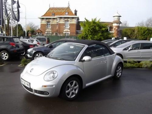Volkswagen NEW BEETLE CABRIOLET d'occasion (12/2009) en vente à Villeneuve d'Ascq