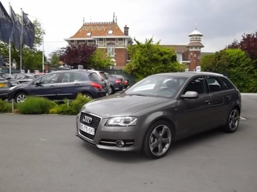 Audi A3 d'occasion (01/2011) disponible à Villeneuve d'Ascq