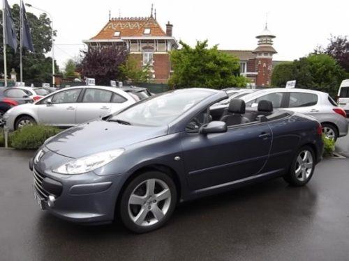 Peugeot 307 CC d'occasion (09/2007) disponible à Villeneuve d'Ascq