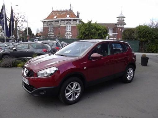 Nissan QASHQAI d'occasion (10/2010) en vente à Villeneuve d'Ascq
