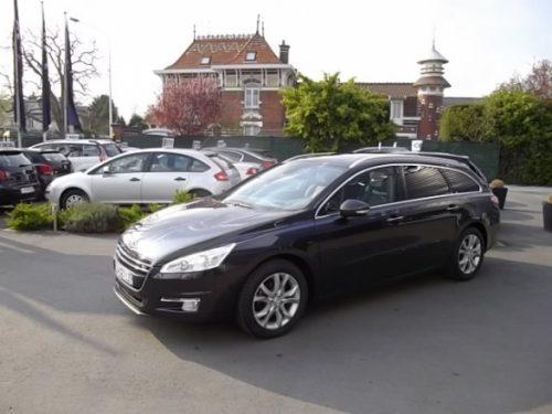Peugeot 508 SW d'occasion (01/2012) en vente à Villeneuve d'Ascq