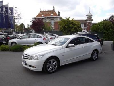 Mercedes CLASSE E COUPE d'occasion (12/2010) en vente à Villeneuve d'Ascq