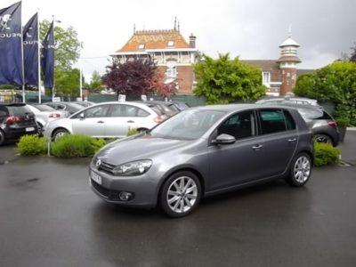 Volkswagen GOLF VI d'occasion (09/2010) en vente à Croix