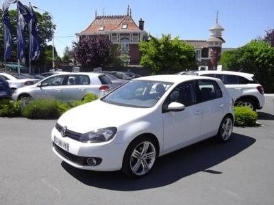 Volkswagen GOLF VI d'occasion (09/2012) en vente à Croix