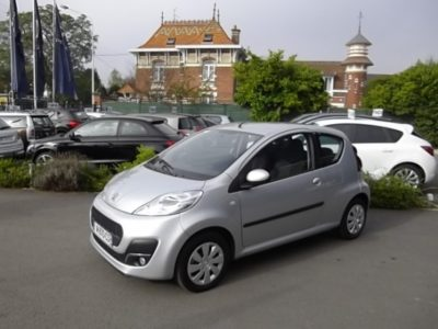 Peugeot 107 d'occasion (03/2012) disponible à Villeneuve d'Ascq
