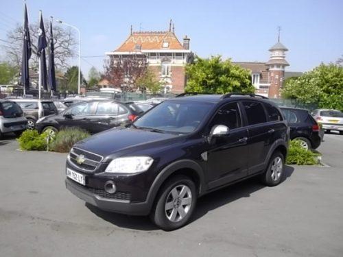 Chevrolet CAPTIVA 7 PLACES d'occasion (02/2010) en vente à Villeneuve d'Ascq