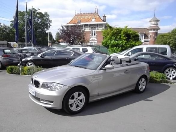 BMW SERIE 1 d'occasion (09/2008) disponible à Villeneuve d'Ascq