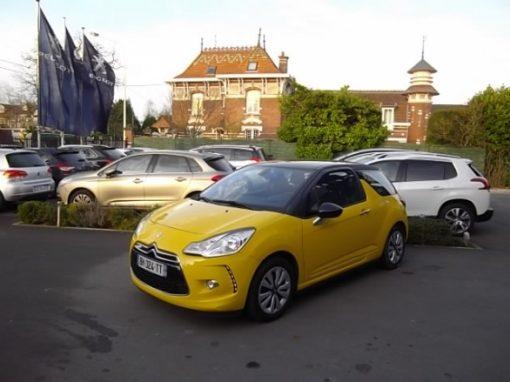 Citroen DS3 d'occasion (02/2011) disponible à Villeneuve d'Ascq