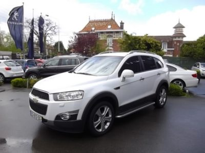 Chevrolet CAPTIVA 7 PLACES d'occasion (04/2012) disponible à Villeneuve d'Ascq