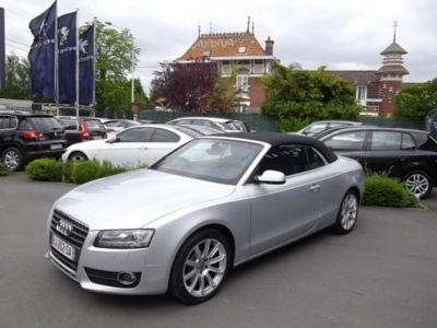 Audi A5 CABRIOLET d'occasion (02/2011) disponible à Villeneuve d'Ascq
