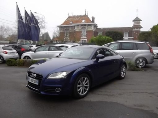 Audi TT d'occasion (11/2010) disponible à Villeneuve d'Ascq
