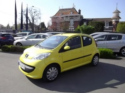 Peugeot 107 d'occasion (09/2007) disponible à Villeneuve d'Ascq