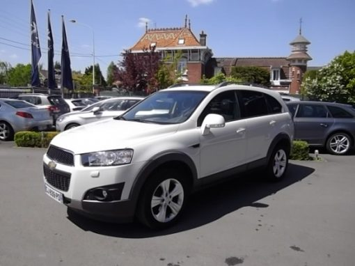 Chevrolet CAPTIVA 7 PLACES d'occasion (08/2012) disponible à Villeneuve d'Ascq
